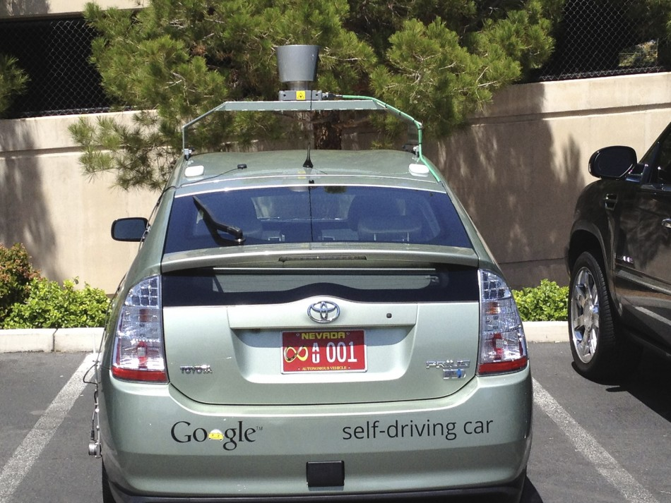 Google car in Nevada, he United States PIC: Reuters