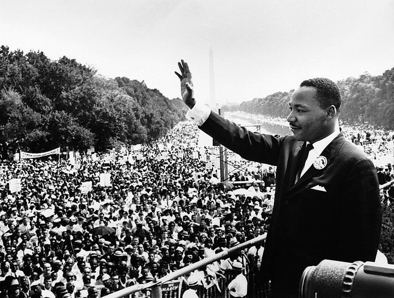 "Martin Luther King's ""I have a dream"""