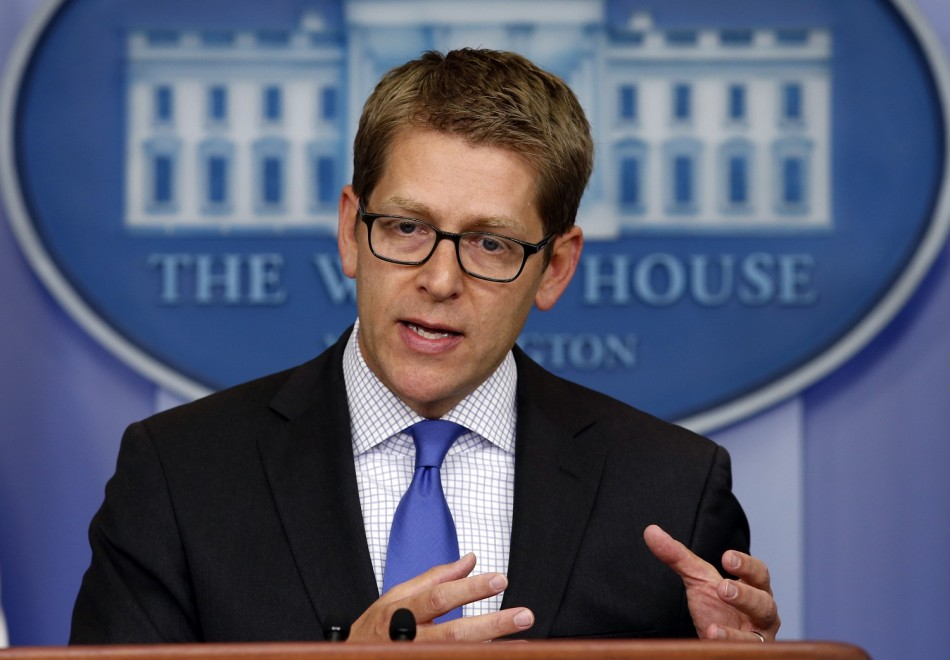 Former White House Press Secretary Jay Carney Could Become Apple PR Chief