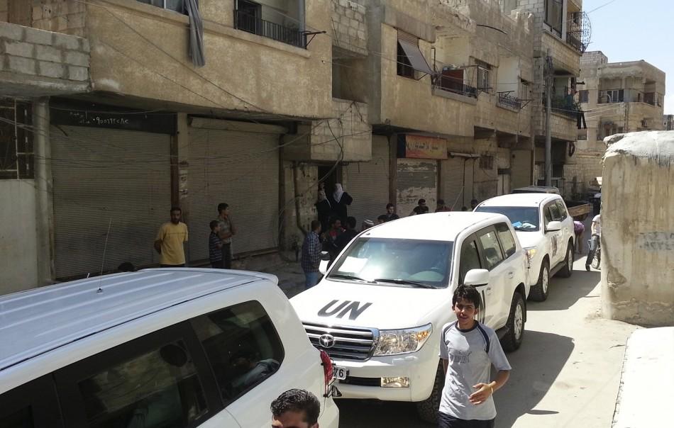 Syria UN team