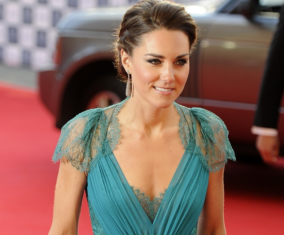 Kate Middleton Stuns with Slim Post-Baby Body in Wales ...