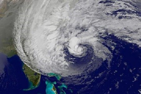 More than 150 people were killed by Hurricane Sandy across when it hit the US (National Hurricane Survey)