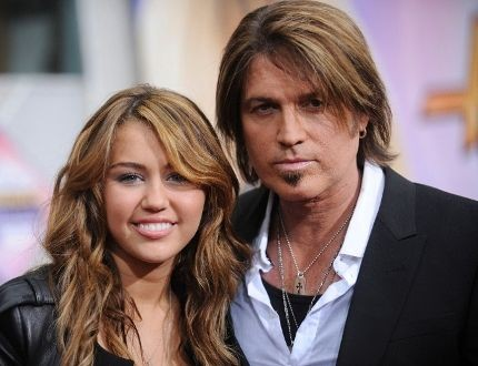 Billy Ray Cyrus and Miley