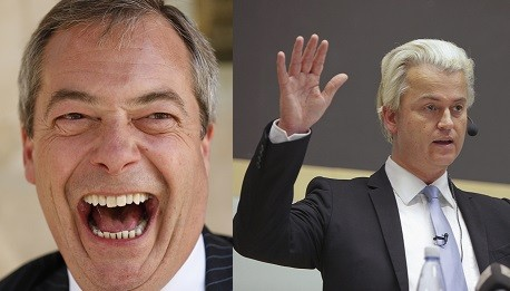 Nigel Farage's Ukip is one of several parties to have rejected Geert Wilders (Reuters)