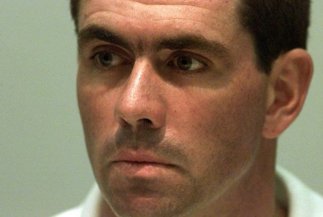 Covered in shame: Hansie Cronje was an awesome leader and an even bigger cheat PIC: Reuters