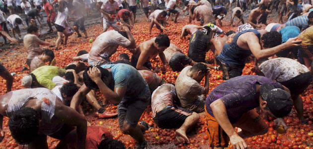 Tomato Fight Now Charges