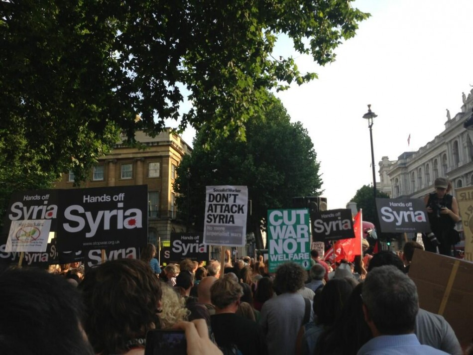 Picture from Stop the War rally
