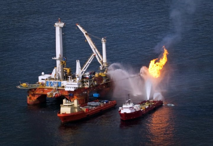 The Deepwater Horizon oil spill in the Gulf of Mexico