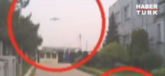 Disc-shaped UFO spotted over Turkey
