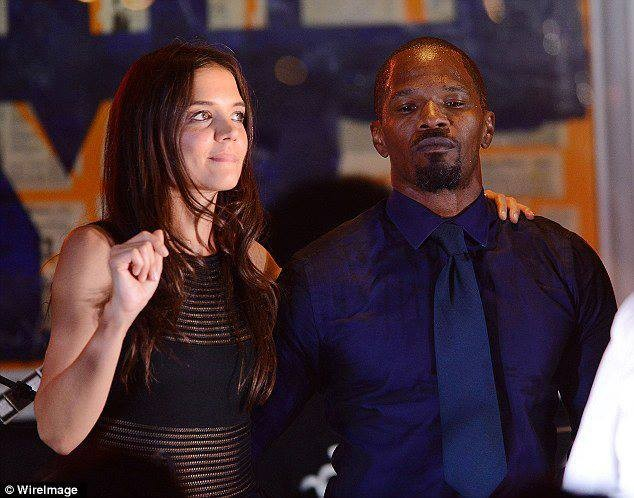 Are Katie Holmes, Jamie Foxx done hiding their love?