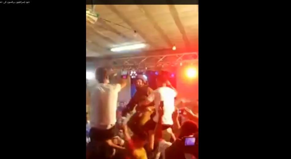 Israeli Soldiers dancing