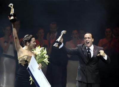 Maximiliano Cristiani and Jesica Arfenoni