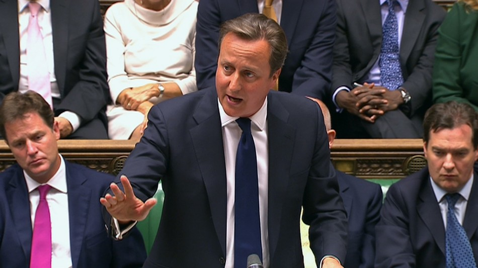 David Cameron was defeated by Commons in bid to bomb Syria PIC: Reuters