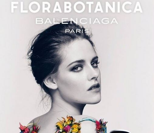 Kristen Stewart Goes Topless in New Balenciaga Advertisment