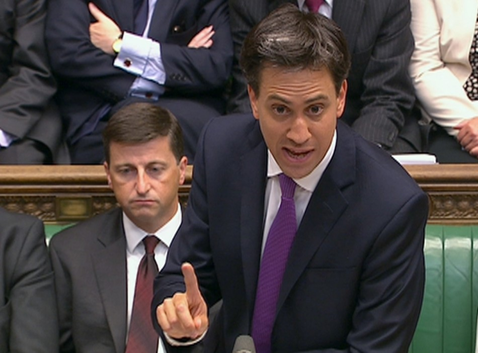 Ed Miliband gained huge kudos for toughening Labour's stance against military action.