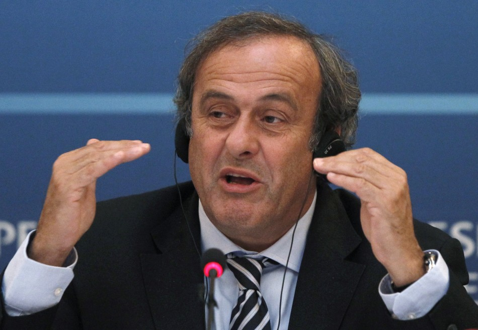 UEFA boss Michel Platini unhappy with fee for Gareth Bale PIC: Reuters