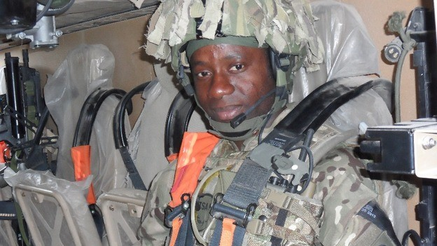 Pte Michael Ihemere  died during a training run across moorland (MoD)