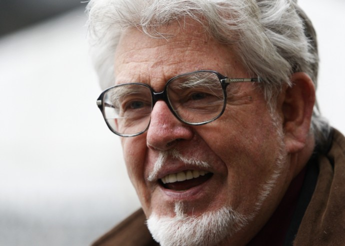 Rolf Harris Charged with 13 Child Sex Offences
