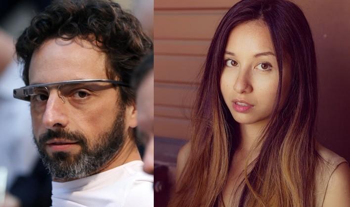 Sergey Brin and Amanda Rosenberg