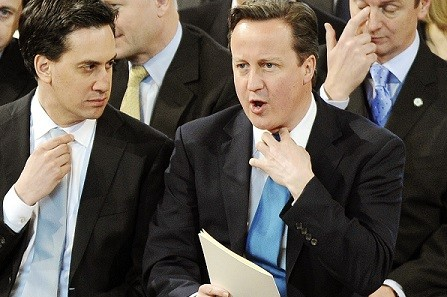 David Cameron and Ed Miliband were reported to have the stark conversation the day before the Commons vote (Reuters)