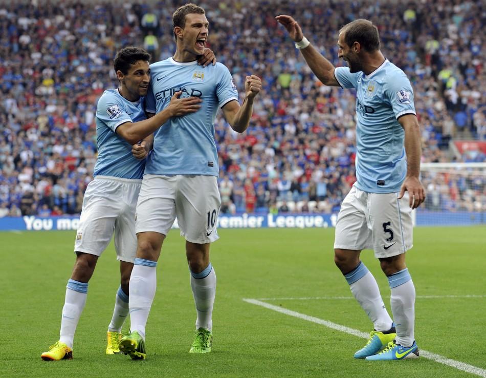 Cardiff City v Manchester City