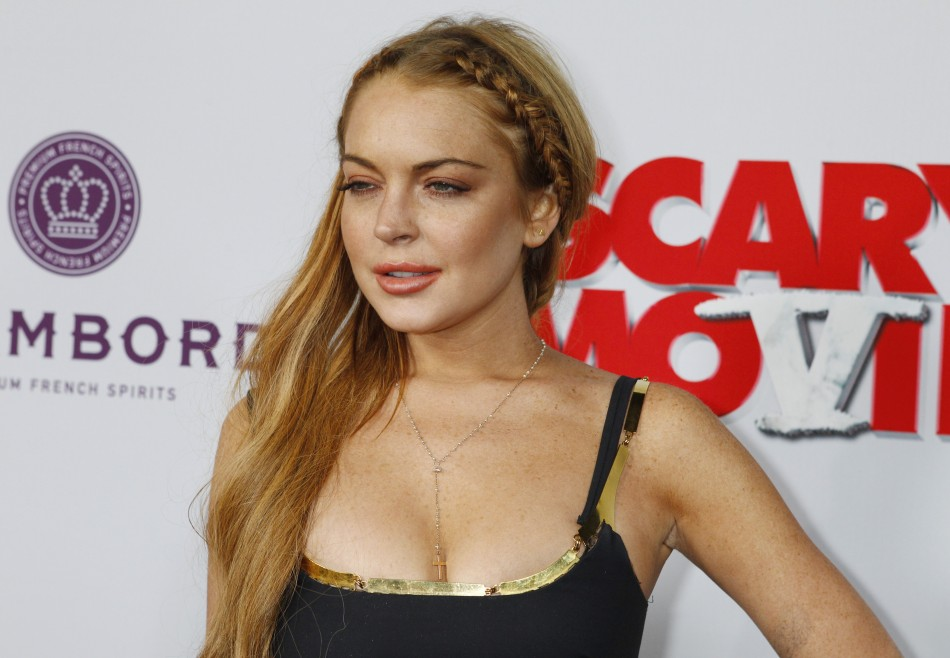 Actress Lindsay Lohan was nowhere to be seen at the premiere of her movie The Canyons at the Venice Film Festival