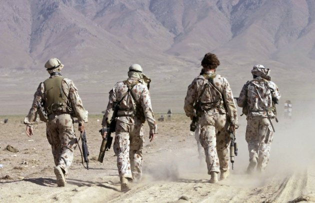 Australian special forces in Afganistan