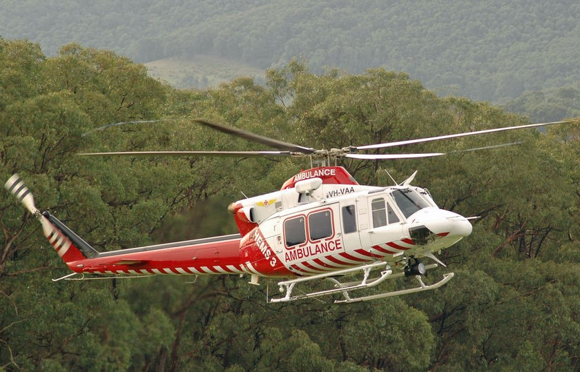 An injured Australian hiker fell 100ft to his death from the helicopter that rescued him. (www.abc.net.au)