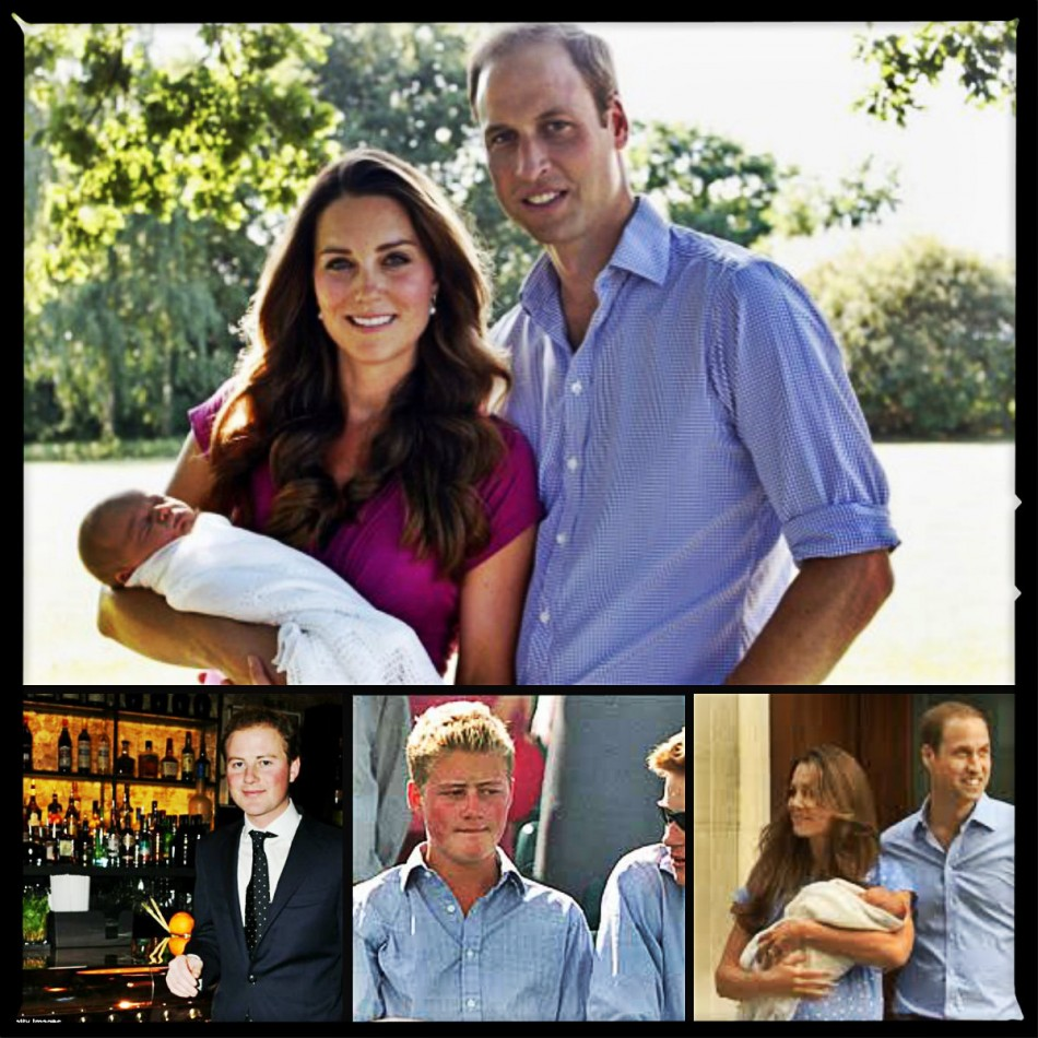 Guy Pelly with Kate Middleton and Prince William