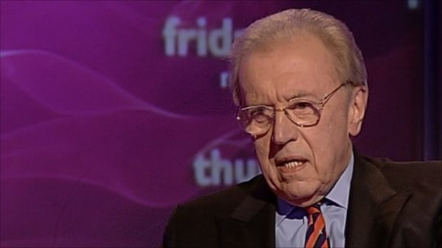 David Frost has died of a heart attack, aged 74 (BBC)