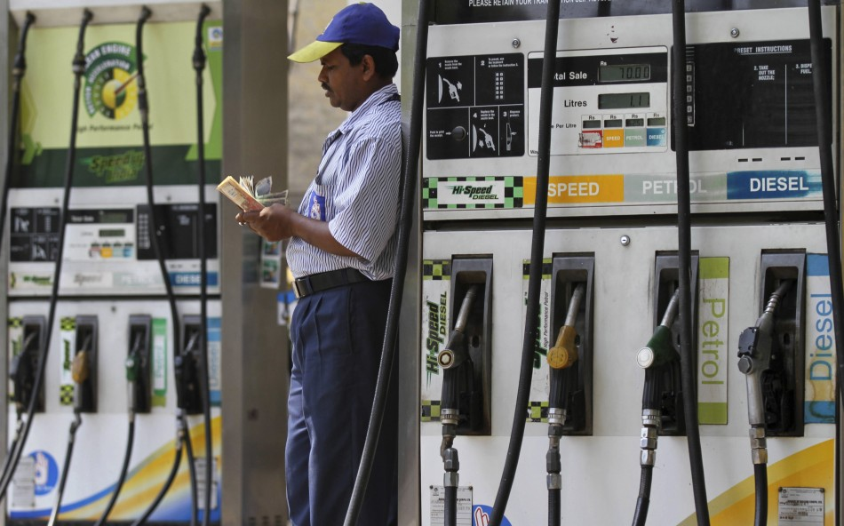 India fuel station