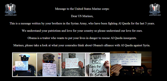 Syrian Electronic Army Hack Marines Corps Website