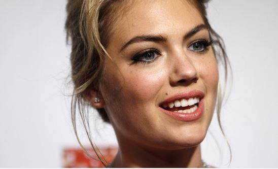 American model Kate Upton has been named as the Model of the Year.