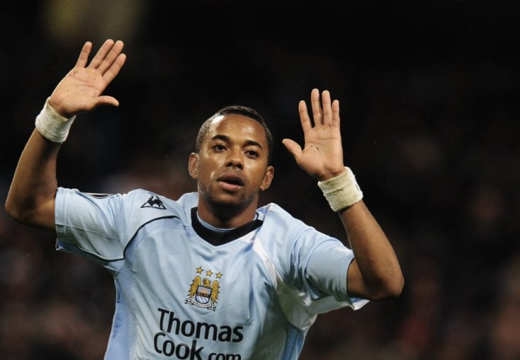 Robinho from Real Madrid to Manchester City