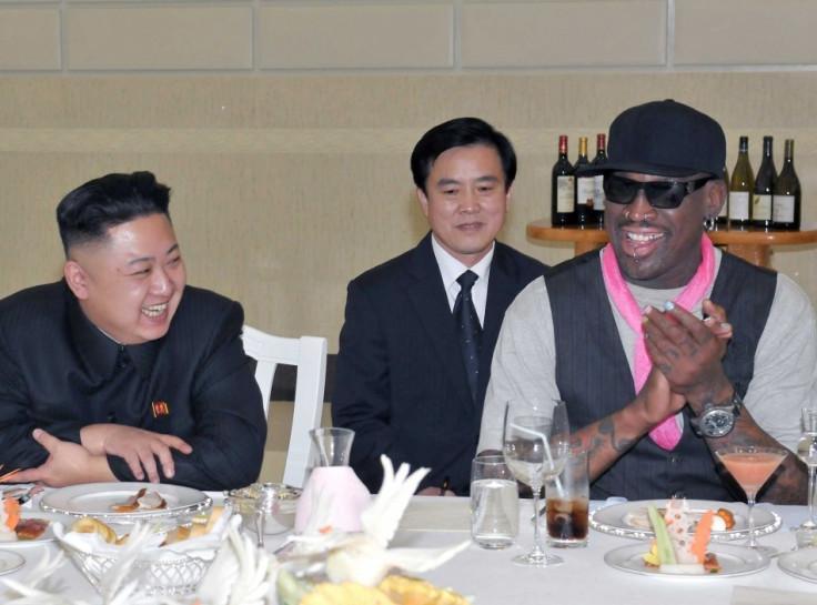 Dennis Rodman visits Kim Jong Un in August