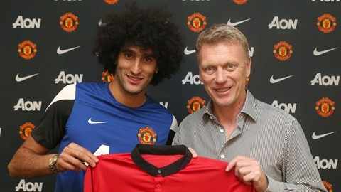 Marouane Fellaini. (Photo: Manchester United)