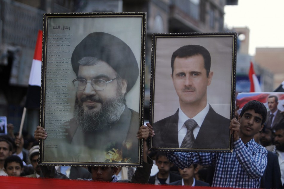 The Shiite-axis of Hezbollah, Assad and Iran