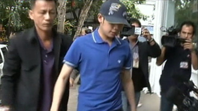 Vorayuth Yoovidhya was arrested at his family home in Bangkok last year (ABC)