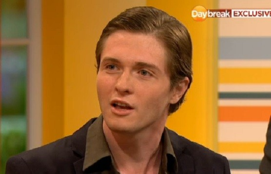 Raffaele Sollecito, who was convicted then cleared with Amanda Knox of killing Meredith Kercher PIC: ITV