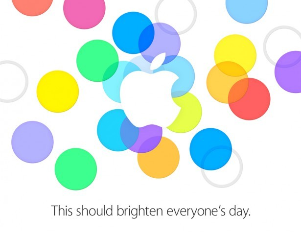 Apple iPhone 5S and iPhone 5C Press Invite