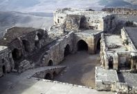 The ruins of Crac des Chevaliers and Qal'at Salah El-Din in Syria (Photo: UNESCO)