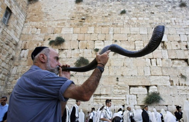 Rosh Hashona: Across the Jewish world, the ram's horn is blown to welcome in the New Year