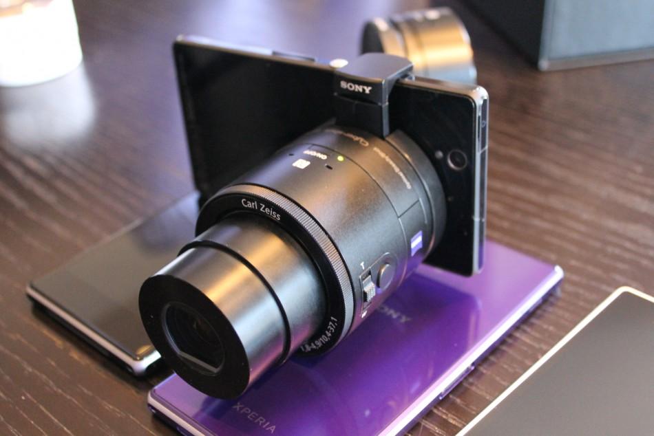 Sony QX10 Wi-Fi lens