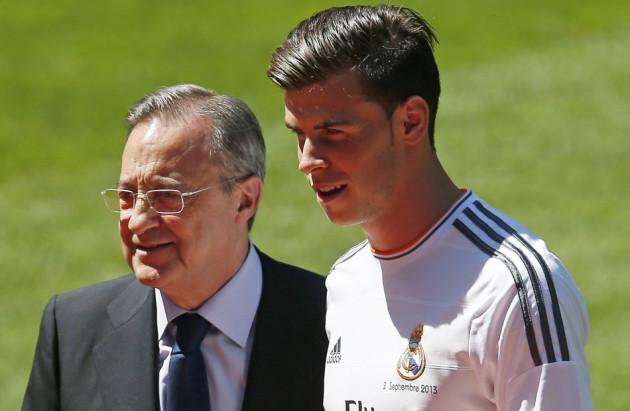 Florentino Perez and Gareth Bale