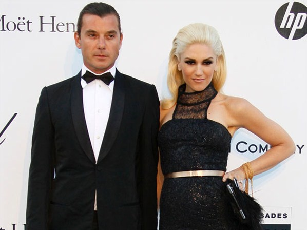 Gwen Stefani and husband Gavin Rossdale