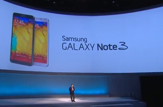 Galaxy Note 3 Launched