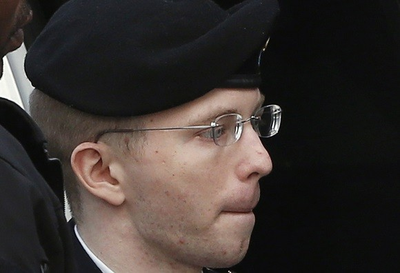 Chelsea Manning is currently serving 35 years in jail (Reuters)