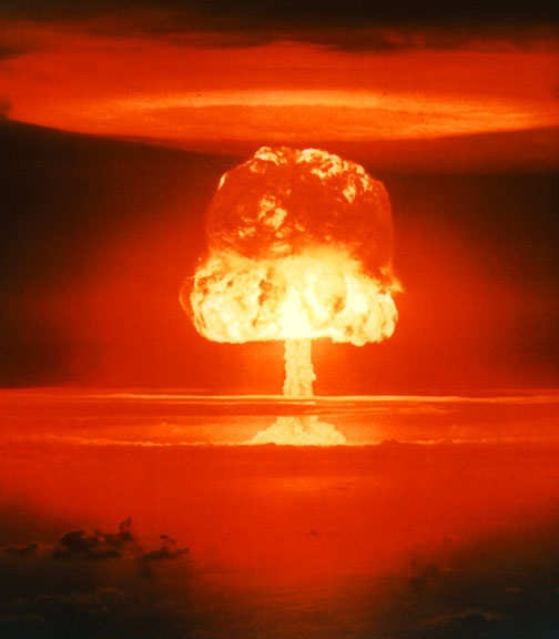 A nuclear holocaust is often associated with World War III.