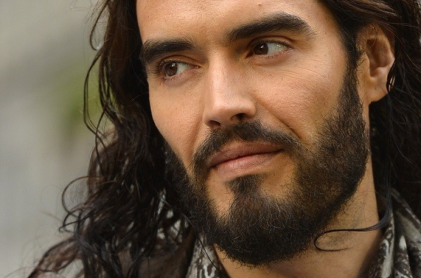 Russell Brand made the joke while collecting the Oracle award at the event (Reuters)