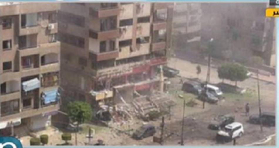 Nasr City explosion